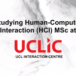 Human-Computer Interaction MSc video is out now!