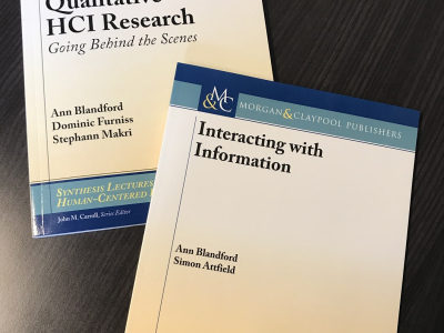 Qualitative HCI and Interacting with Information